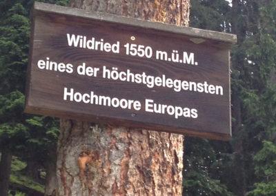 Wanderung Kristberg Silbertal