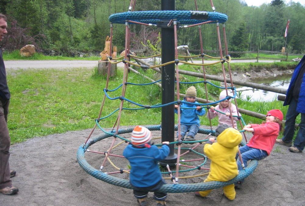 Mit Kinderwagen über den Kristberg durchs Silbertal