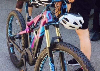 E-Mountainbike-Einheit