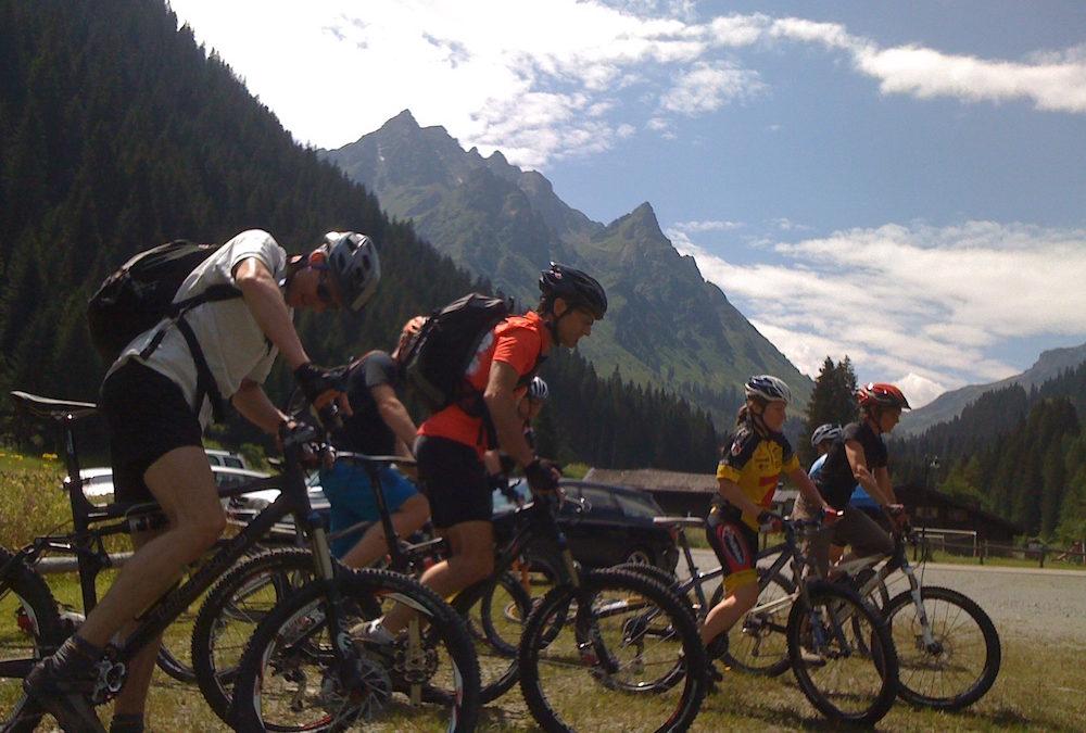 Biketour: Vergalda- und Valzifenztal Gargellen
